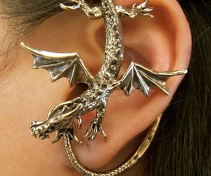 dragon and earring image