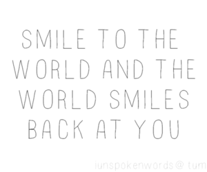 smile, text, and world image