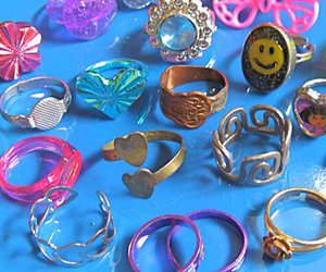 rings, grunge, and ring image