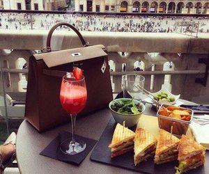 food, luxury, and bag image