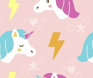 wallpaper, unicorn, and cute image