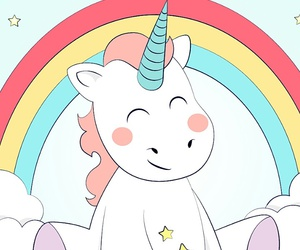 kawaii, unicorn, and cute image