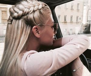 blonde, photo, and bracelet image
