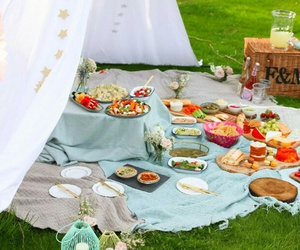 party and picnic image