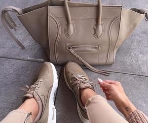 fashion, nike, and bag image