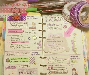 diary, study, and bullet journal image