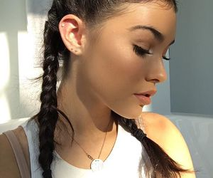madison beer, braid, and hair image
