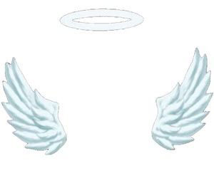 overlay, angel, and edit image