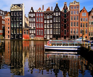 amsterdam, buildings, and luxury image