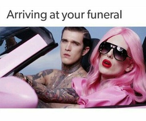funny, pink, and jeffree star image