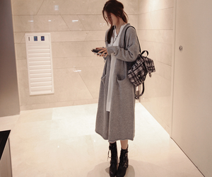 bag, korean, and shoes image