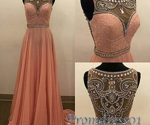 prom dress, beautiful, and dress image