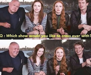 game of thrones, funny, and sophie turner image