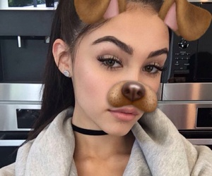 girl, madison beer, and snapchat image