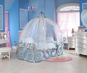 bedroom, cinderella, and kids image