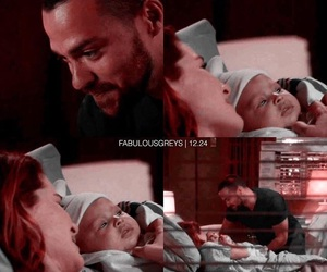 grey's anatomy, jackson avery, and april kepner image