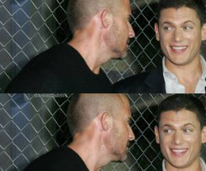 lincoln, wentworth miller, and michael scofield image
