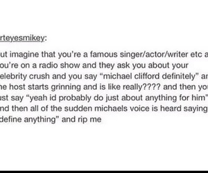 AHH, imagine, and 5sos image