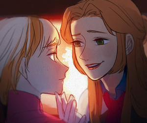 anime, anna, and boy image