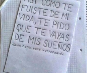 frases, Dream, and accion poetica image