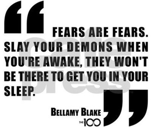 demon, fear, and quotes image