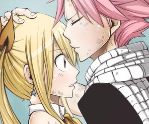 boy, kiss, and lucy heartfilia image