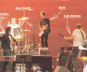 arrows, concert, and foo fighters image