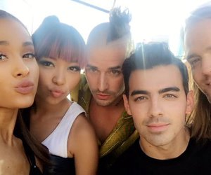 ariana grande, dnce, and Joe Jonas image