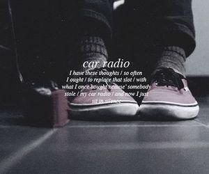 car radio, twenty one pilots, and Lyrics image