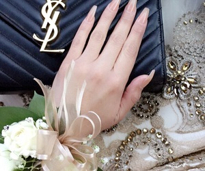 chic, classy, and corsage image