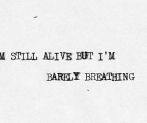 alive, the script, and breakeven image