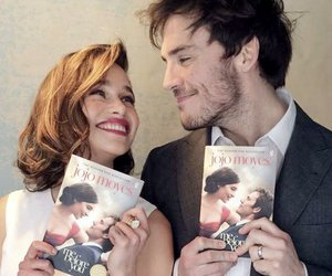 me before you, sam claflin, and book image