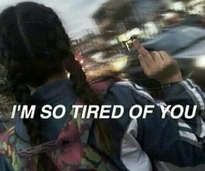 tired, dark, and grunge image
