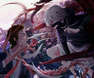 anime, tokyo ghoul, and parasyte image