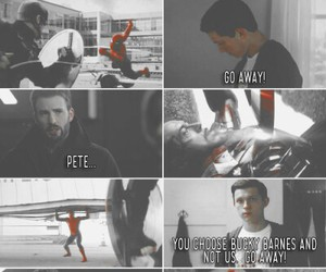 civil war, peter parker, and superfamily image