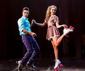 casal, patins, and roller image