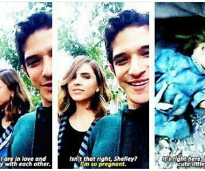teen wolf, tyler posey's snapchat, and tyler posey image