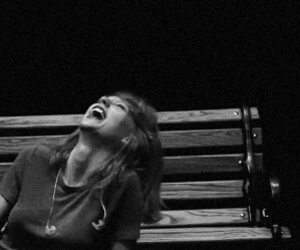 black and white, smile, and Taylor Swift image