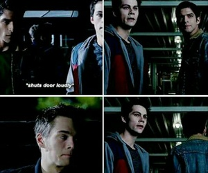 teen wolf, scott mccall, and stiles stilinski image
