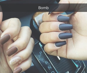 bff, matte, and nails image