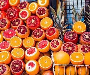 orange, fruit, and bright image