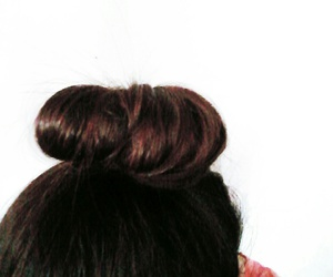 bun and hair image