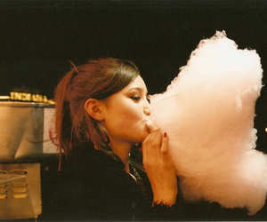girl and cotton candy image