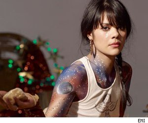 body painting and galaxy painting image