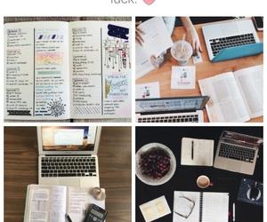 desk, motivation, and study image