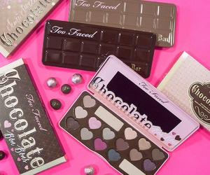 beauty, femme, and choco image