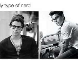 nerd, zac efron, and boy image