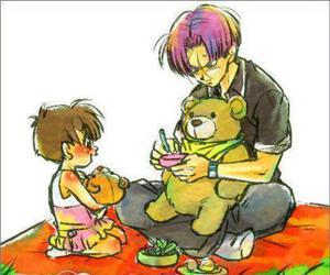 bear, picnic, and teddy image