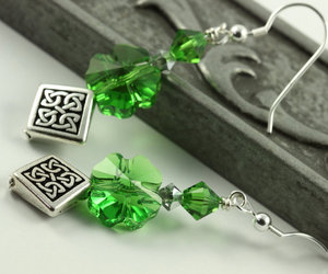 celtic, crystal, and green image