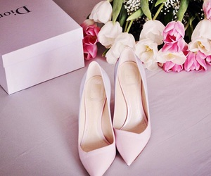 dior, heels, and shoes image